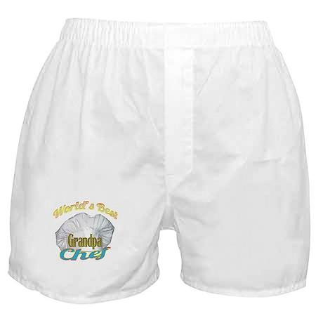 WORLD'S BEST GRANDPA / COOK Boxer Shorts