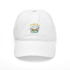 WORLD'S BEST GRANDPA / COOK Baseball Cap