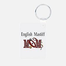 English Mastiff Mom Keychains