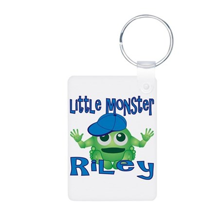 Little Monster Riley Aluminum Photo Keychain