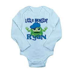 Little Monster Ryan Long Sleeve Infant Bodysuit