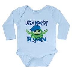 Little Monster Ryan Long Sleeve Infant Bodysuit