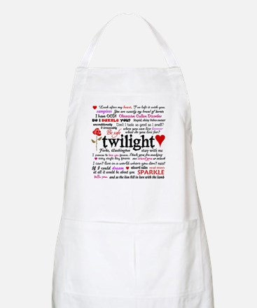 Twilight Quotes Apron