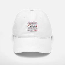 Twilight Quotes Baseball Baseball Cap