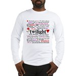 Twilight Quotes Long Sleeve T-Shirt
