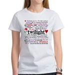 Twilight Quotes Women's T-Shirt