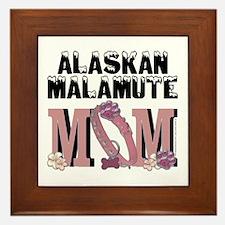 Malamute MOM Framed Tile