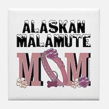Malamute MOM Tile Coaster