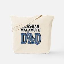 Malamute DAD Tote Bag