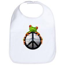 Cute Frog Bib