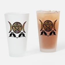 Crystal Ball Pentagram Drinking Glass