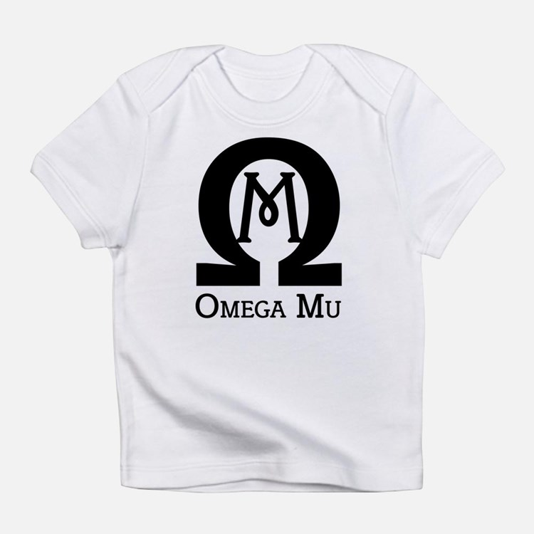 Omega MU - Black - Infant T-Shirt