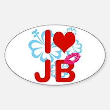 I love Jimmy! Sticker (Oval)