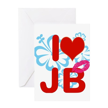 I love Jimmy! Greeting Card