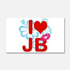 I love Jimmy! Car Magnet 20 x 12