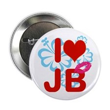 """I love Jimmy! 2.25"""" Button"""