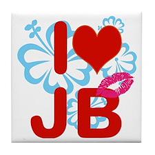 I love Jimmy! Tile Coaster