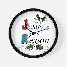 Jesus is the Reason Wall Clock