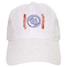 narwhal whale bacon Baseball Cap
