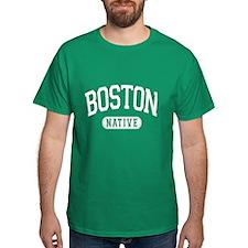 Born In Boston - T-Shirt