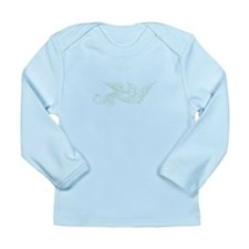 Swirly Dragon Long Sleeve Infant T-Shirt