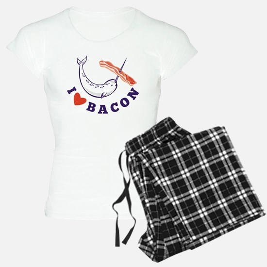 narwhal whale bacon Pajamas