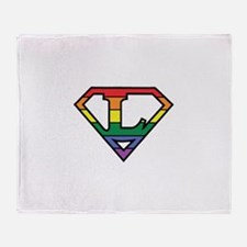 Super Lesbian! Throw Blanket