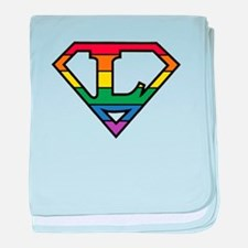 Super Lesbian! baby blanket