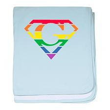 Super Gay! baby blanket