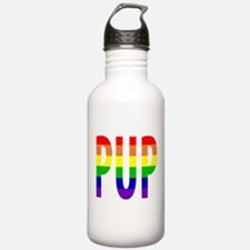 Pup - Gay Pride Water Bottle