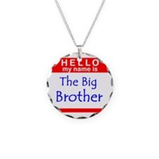 Big Brother Name Tag Necklace