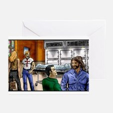 Morgue Gathering Greeting Cards (Pk of 10)