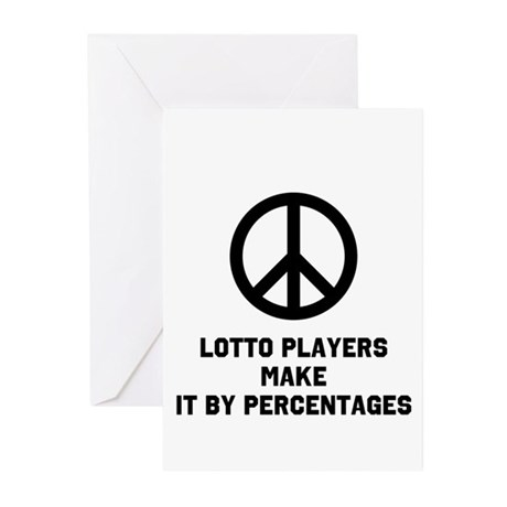 LP Make Percentages Greeting Cards (Pk of 10)
