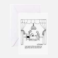 Fortune Teller to Carpenters Greeting Card