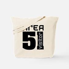 Area 51 Alien Visitor Tote Bag