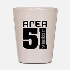 Area 51 Alien Visitor Shot Glass