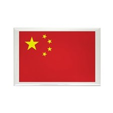 Chinese Flag Rectangle Magnet