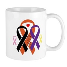 Cute Surviving lung cancer Mug