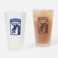 18th Airborne Corps Drinking Glass