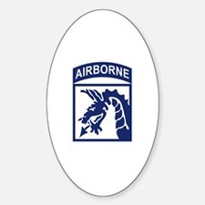 18th Airborne Corps Sticker (Oval)