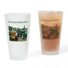 Cool Oliver tractor Drinking Glass
