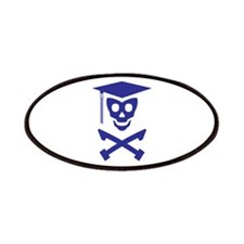 Grad Class Skully Patches