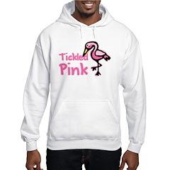 Tickled PInk Flamingo Hoodie