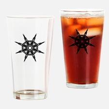 The Dharma Wheel Drinking Glass