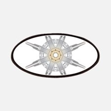 The Dharma Wheel Patches