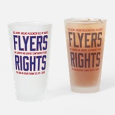 Flyers Rights Drinking Glass