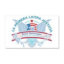 La Primera Latina Justicia Car Magnet 20 x 12