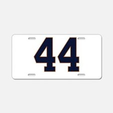 The Presidential Express 44 Aluminum License Plate