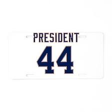 2008 44th President Aluminum License Plate