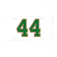 2008 Barack Obama 44 Aluminum License Plate